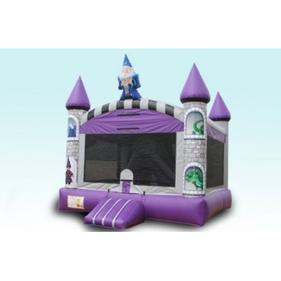 Wizard Bounce House Combo